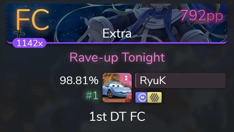 Live RyuK Fear Loathing in Las Vegas Rave up Tonight Extra 1st HDDT FC 98 81% 1 792pp