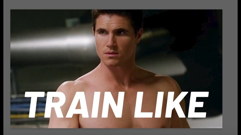 The Flash's Robbie Amell Shares His Home Workout Train Like a Celebrity Men's Health