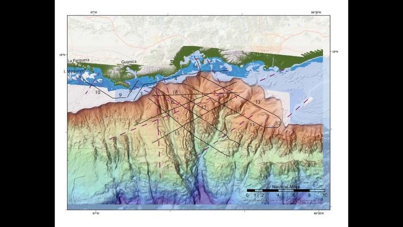 EXCLUSIF De nouvelles failles du fond marin découvertes près des séismes de Porto Rico