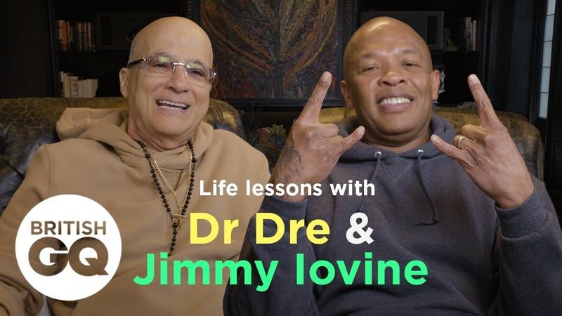Dr. Dre и Джимми Айовайн рассказали British GQ о своих советах для достижения успеха.