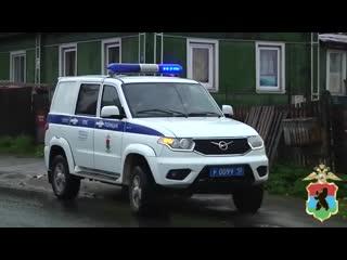 Полицейские в Карелии спасли жильцов квартиры, в которой произошёл пожар