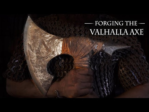 Forging the Viking Axe from Assassin's Creed Valhalla