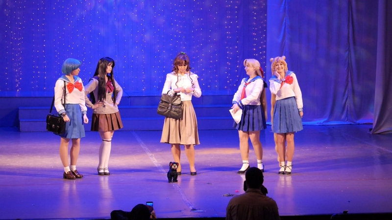 2 18 Likanda Harkness AuroraYulia Koteg Sapphiremelles Sailor Moon Усаги Рей Ами Мако Минако Москва ЭКШН ДЕФИЛЕ