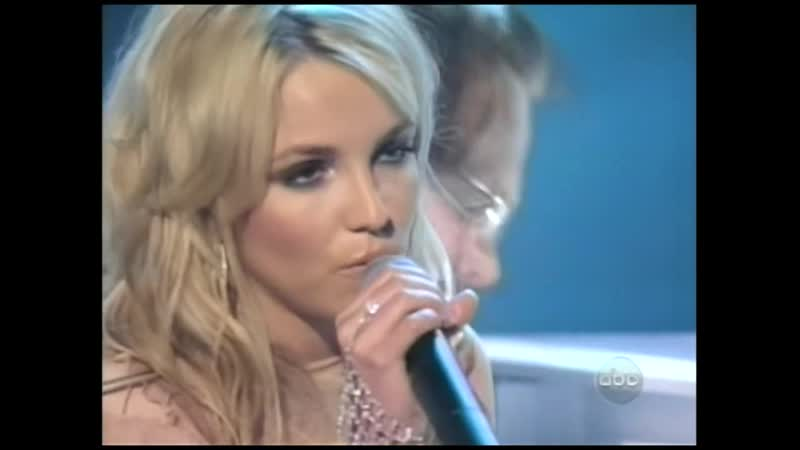 Britney Spears Im Not a Girl Not Yet a Woman @ AMAs American Music Awards 2002 Live TV Rip
