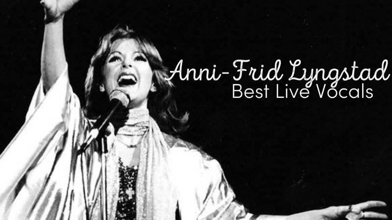 Anni Frid Lyngstad's Best Live Vocals