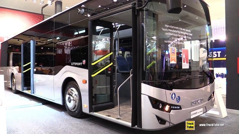 2019 Isuzu CityPort 12 Hyper Bus - Exterior and Interior Walkaround - 2018 IAA Hannover