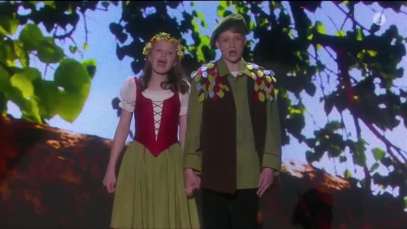Papagena Papageno Aksel Rykkvin 15лет Inga Lohne Otterstad 14лет