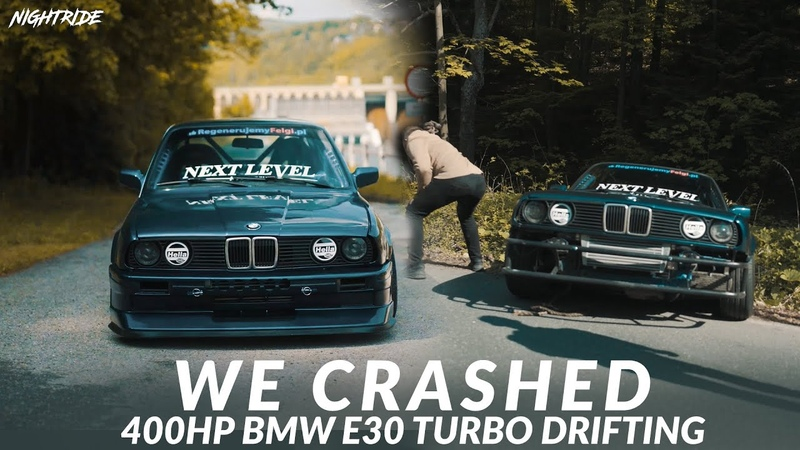 400HP TURBO BMW E30 Drifting 4K