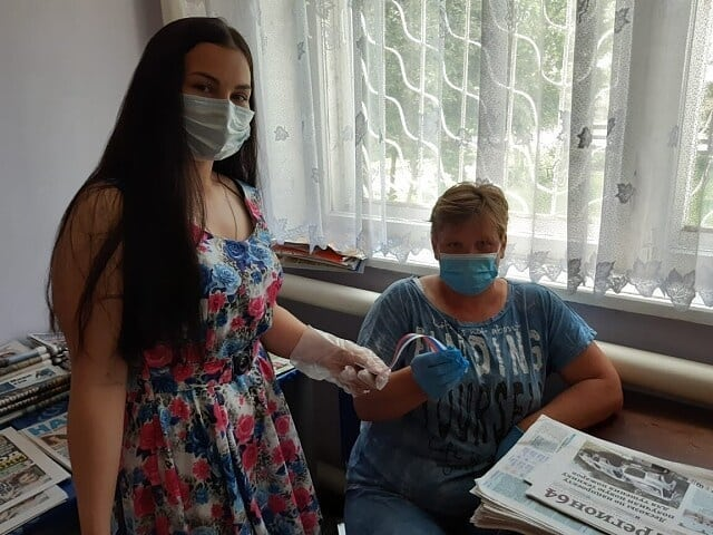 В Петровском районе продолжаются акции, приуроченные к предстоящему Дню России