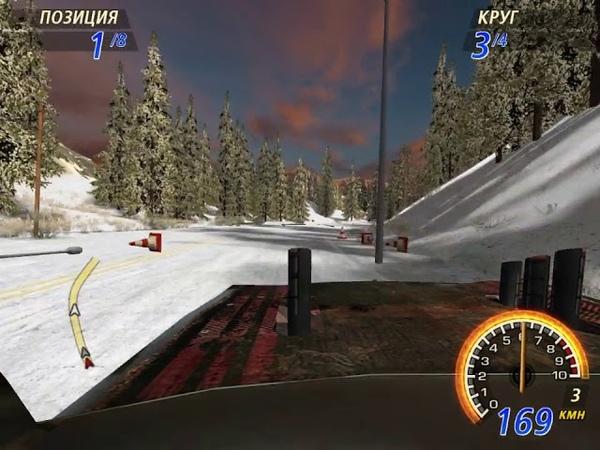 FlatOut 2 Winter Pursuit Blaster XL Timberlands 3