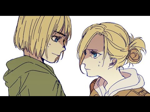 Attack on Titan Armin and Annie Oneshot Comic