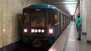Электропоезд 81-717 714.5 Номерной №53 на станции метро Коломенская, Замоскворецкая линия
