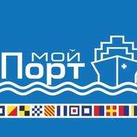 """Логотип Торговый Центр """"Мой Порт"""""""