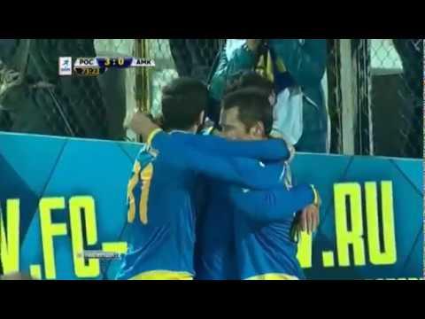 Гол ⚽ Дмитрия Кириченко в матче Ростов Амкар 3 0