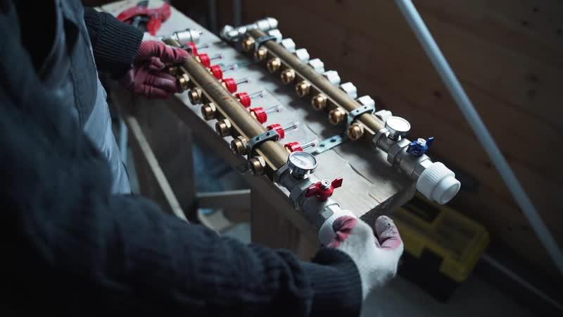 Монтаж комплексных систем водоснабжения и отопления. Газовик- Сервис.