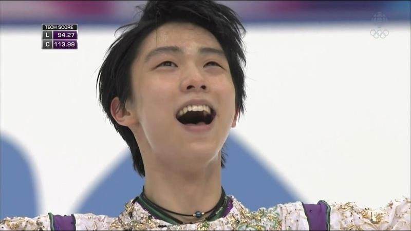 2015 NHK Trophy - Yuzuru Hanyu FS Fluff [CBC]