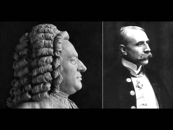 Edward Elgar Fantasia and Fugue in C minor Op.86 Bach BWV 537 Transcr
