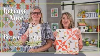 Bloom-Topia 2020 Charity Quilt Along - Release 9 | Fat Quarter Shop