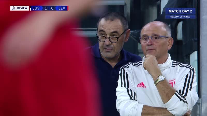 UCL 2019 20 g02 Juventus Bayer