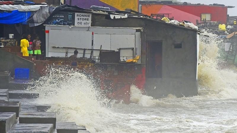 Flooding in Mumbai, India (July 5, 2020)