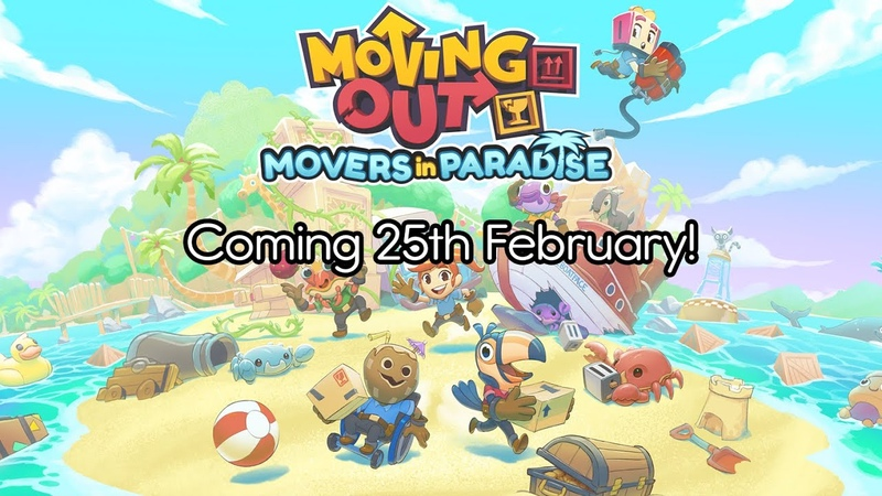 Moving Out Movers in Paradise Release Date Trailer