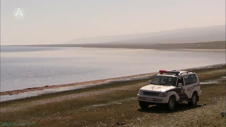 Озёра на вершине мира 4 Кукунор в Китае Познавательный путешествие природа 2011