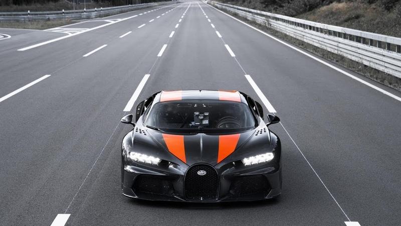 490 kilometers per hour Bugatti Chiron Speed record