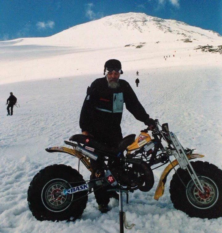 """ЗИД """"Тарзан"""" — мотоцикл с двумя ведущими колёсами, созданный для покорения Эльбруса, изображение №6"""