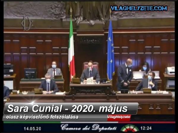Olasz képviselőnő mondta el az évtized parlamenti felszólalását 2020.05.14-én-Deep State, Bill Gates