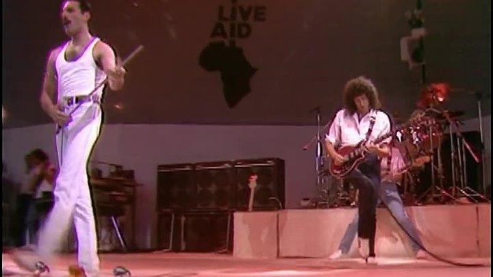 Queen Выступление Куин на концерте LIVE AID 1985 HD