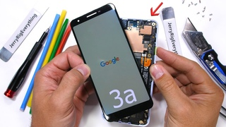 Разборка и сборка Google Pixel 3a на