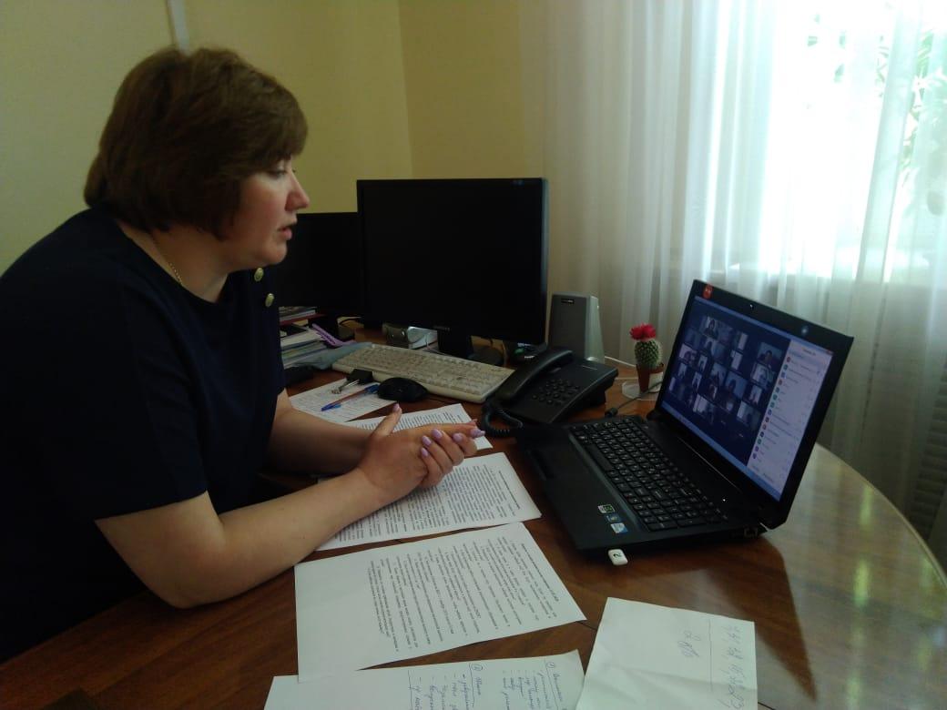 В Таганроге состоялась родительская конференция в дистанционном режиме