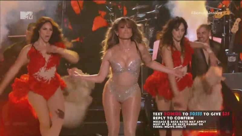 Jennifer Lopez Let's Get Loud Live at Somos Una Voz