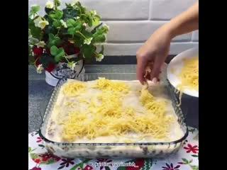 Шедевры кулинарии_лазанья