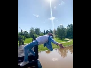 Дима Билан на съёмках клипа Химия