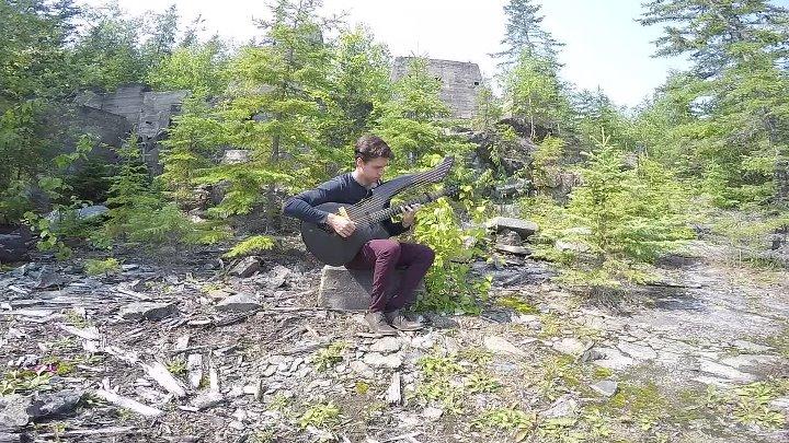 Game of Thrones (Main Theme) Harp Guitar Cover - Jamie Dupuis-VaIsHK0o0Zc