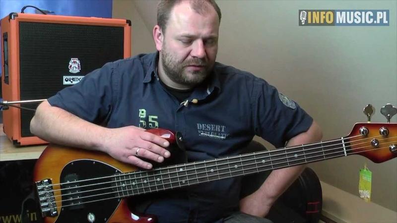 Sterling RAY35 by Music Man video test gitary basowej w
