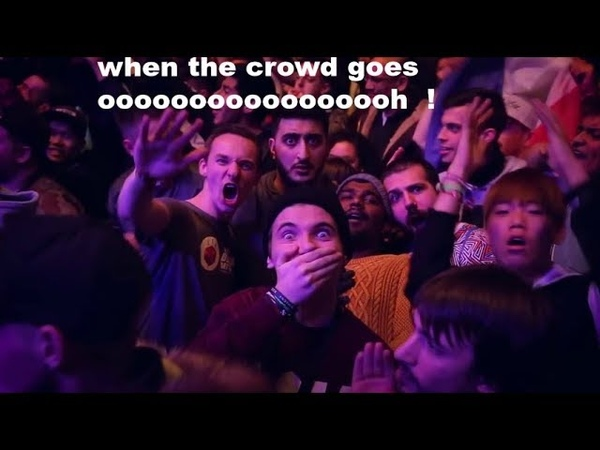 That Moment When The Crowd Goes OOOOOOH Beatbox Edition Part 1