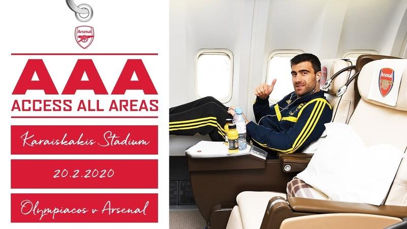 Access All Areas Olympiacos 0 1 Arsenal Europa League