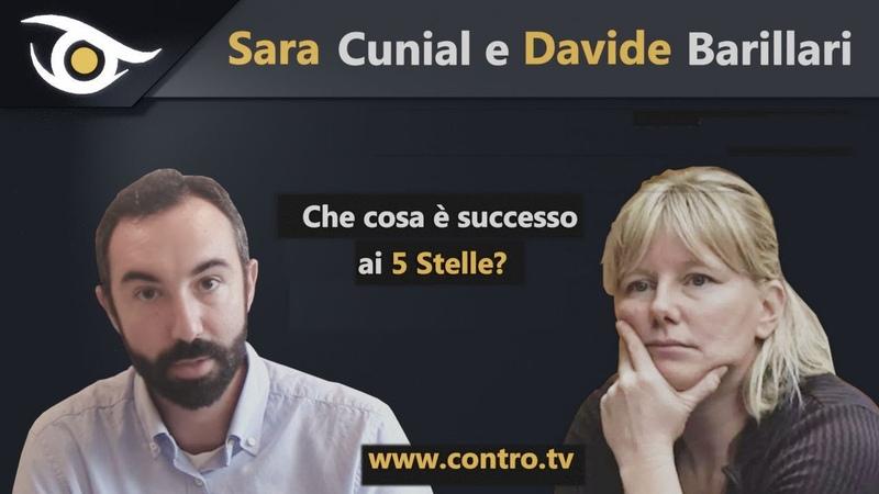 Sara Cunial e Davide Barillari Che cosa è successo ai 5 Stelle